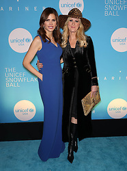 Desiree Gruber and Sandra Lee at the UNICEF USA's 14th Annual Snowflake Ball in New York City.