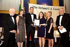 Ireland-U.S. Council  Midsummer Gala Dinner,  St. Patrick's Hall, Dublin Castle, Dublin. Ireland.