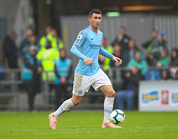 September 22, 2018 - Cardiff City, England, United Kingdom - Aymeric Laporte of Manchester City in action during the Premier League match between Cardiff City and Manchester City at Cardiff City Stadium,  Cardiff, England on 22 Sept 2018. (Credit Image: © Action Foto Sport/NurPhoto/ZUMA Press)