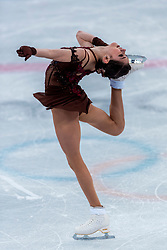 GANGNEUNG, SOUTH KOREA - FEBRUARY 23: Evgenia Medvedeva of Olympic Athlete from Russia competes during the Figure Skating Ladies Free program on day fourteen of the PyeongChang 2018 Winter Olympic Games at Gangneung Ice Arena on February 23, 2018 in Gangneung, South Korea. Photo by Ronald Hoogendoorn / Sportida