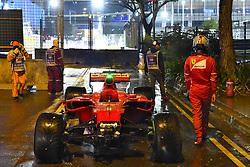 September 17, 2017 - Singapore, Singapore - Motorsports: FIA Formula One World Championship 2017, Grand Prix of Singapore, ..#5 Sebastian Vettel (GER, Scuderia Ferrari) (Credit Image: © Hoch Zwei via ZUMA Wire)