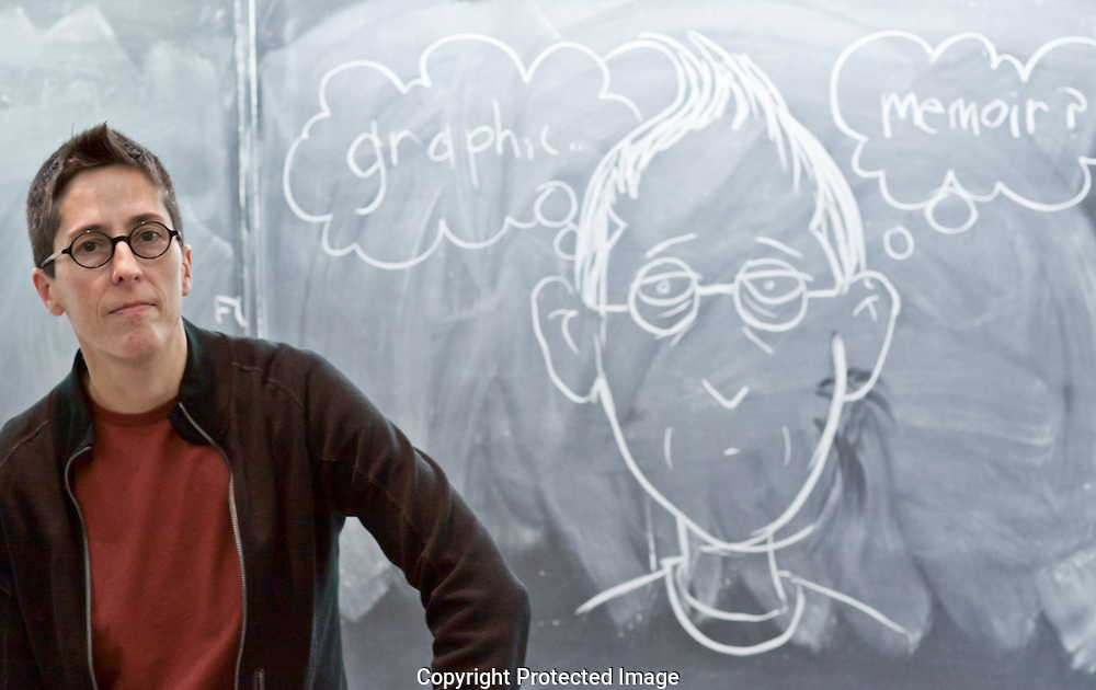 Alison Bechdel is a cartoonist and graphic novelist. Her best-known book is Fun Home, a comic book about her own childhood. She won a MacArthur Fellowship in 2015.