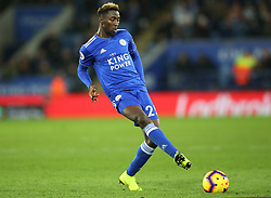 Leicester City's Wilfred Ndidi during the Premier League match at the King Power Stadium, Leicester.