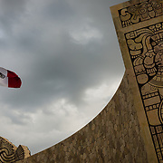 Monument to history of Mexico in the city of Merida