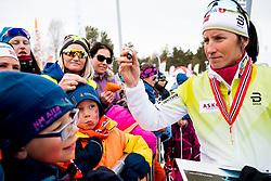April 6, 2018 - Alta, NORWAY - 180406 Marit BjÂ¿rgen after the Women's 5 km Classic during the Norwegian Championship on April 6, 2018 in Alta..Photo: Jon Olav Nesvold / BILDBYRN / kod JE / 160235 (Credit Image: © Jon Olav Nesvold/Bildbyran via ZUMA Press)