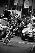 Lance Armstrong bij de proloog van de Tour de France in Rotterdam.<br /> <br /> Lance Armstrong at the prologue of the Tour de France 2010 in Rotterdam.