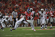 at Vaught-Hemingway Stadium at Ole Miss in Oxford, Miss. on Saturday, September 26, 2015. (AP Photo/Oxford Eagle, Bruce Newman)