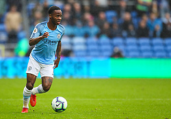 September 22, 2018 - Cardiff City, England, United Kingdom - Raheem Sterling of Manchester City in action during the Premier League match between Cardiff City and Manchester City at Cardiff City Stadium,  Cardiff, England on 22 Sept 2018. (Credit Image: © Action Foto Sport/NurPhoto/ZUMA Press)
