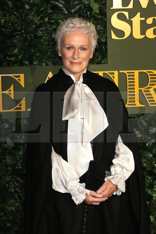 © Licensed to London News Pictures. 13/11/2016. London, UK, Glenn Close, Evening Standard Theatre Awards, Photo credit: Richard Goldschmidt/LNP