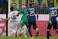 Gol di Nikola Kalinic Fiorentina 0-2. Celebration goal<br /> Milano 27-09-2015 Stadio Giuseppe Meazza - Football Calcio Serie A Inter - Fiorentina. Foto Giuseppe Celeste / Insidefoto