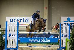 Alexandre Rubin, BEL, Quizzy van het Bukenveld<br /> Nationaal Indoorkampioenschap  <br /> Oud-Heverlee 2020<br /> © Hippo Foto - Dirk Caremans
