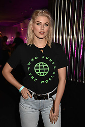 Ashley James at the STK Ibiza themed brunch party at STK London, London, England. 7 May 2017.<br /> Photo by Dominic O'Neill/SilverHub 0203 174 1069 sales@silverhubmedia.com