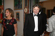 LORD AND LADY HOLLICK, Royal Academy Annual Dinner. Piccadilly. London. 5 June 2007.  -DO NOT ARCHIVE-© Copyright Photograph by Dafydd Jones. 248 Clapham Rd. London SW9 0PZ. Tel 0207 820 0771. www.dafjones.com.