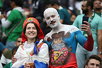 Football - 2018 FIFA World Cup - Group A: Russia vs. Saudi Arabia<br /> <br /> Fans are seen at the Luzhniki Stadium, Moscow.<br /> <br /> COLORSPORT/IAN MACNICOL