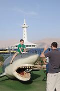 The Underwater Observatory Marine Park, Eilat, Rotes Meer, Israel.|.The Underwater Observatory Marine Park, Eilat, Red Sea, Israel.