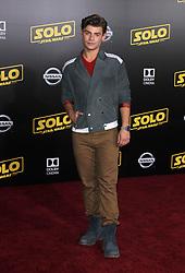 Solo: A Star Wars Story Premiere - Los Angeles. 10 May 2018 Pictured: Clayton Garrett. Photo credit: Jaxon / MEGA TheMegaAgency.com +1 888 505 6342