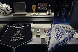 September 18, 2018 - Na - Gelsenkirchen, 09/18/2018 - Museum of the Fc Schalke 04, with elements that tell the story of the victory of FC Porto in the Champions League in 2004. (Credit Image: © Atlantico Press via ZUMA Wire)
