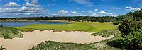 CROMVOIRT - Panorama hole 8. Bernardus Golf is een golfbaan in Cromvoirt, die in 2018 is geopend. De 18-holes baan is een ontwerp van de baanarchitect Kyle Phillips. De baan is aangewezen voor het Dutch Open, .   COPYRIGHT KOEN SUYK