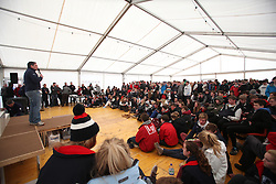 The RYA Youth National Championships 2013 held at Largs Sailing Club, Scotland from the 31st March - 5th April. ..Competitor Briefing..For Further Information Contact..Matt Carter.Racing Communications Officer.Royal Yachting Association.M: 07769 505203.E: matt.carter@rya.org.uk ..Image Credit Marc Turner / RYA..