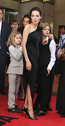 September 12, 2017 - Toronto, Canada - ANGELINA JOLIE WITH HER DAUGHTERS VIVIENNE AND SHILOH - RED CARPET OF THE FILM 'FIRST THEY KILLED MY FATHER' - 42ND TORONTO INTERNATIONAL FILM FESTIVAL 2017 (Credit Image: © Visual via ZUMA Press)
