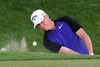 Golf - 2017 BMW PGA Championship - West Course, Wentworth<br /> <br /> Alex Noren of Sweden comes out of a bunker, during the first round.<br /> <br /> COLORSPORT/ANDREW COWIE
