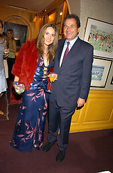 GRAHAM and SYLVIA BOURNE at a dinner hosted by Stratis & Maria Hatzistefanis at Annabel's, Berkeley Square, London on 24th March 2006 following the christening of their son earlier in the day.<br /><br />NON EXCLUSIVE - WORLD RIGHTS