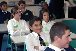 Starting Point' school for children from refugee and migrant families; Bolton; Greater Manchester, The children stay here for about 4 weeks before they are integrated into mainstream education, UK