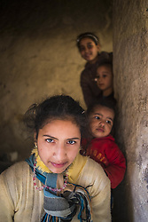 December 8, 2015 - Morocco - People in a village in Rissani oasis (Credit Image: © Dani Salv/VW Pics via ZUMA Wire)
