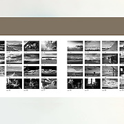 PATAGONIA - IMAGES COLLECTION. The South of the word when the world finished (page 62-63). Best collection from the first book Patagonia, published in October 2014. Published by apspressimage. The author presents a series of images using the digital and analogue camera to tell the story of the daily life in Black and White of southern Patagonia.
