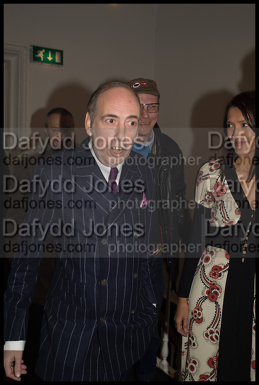 MICK JONES, Private view, Paul Simonon- Wot no Bike, ICA Nash and Brandon Rooms, London. 20 January 2015