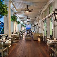 Partridge Inn Outside Dining - Augusta, GA