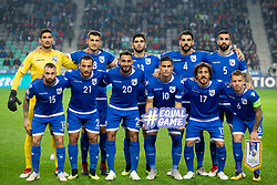 Players of Cyprus during football match between National Teams of Slovenia and Cyprus in Final Tournament of UEFA Nations League 2019, on October 16, 2018 in SRC Stozice, Ljubljana, Slovenia. Photo by Urban Urbanc / Sportida
