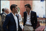 FLAVIO GIANASSI; BENJAMIN PROUST, Drinks party to launch this year's Frieze Masters.Hosted by Charles Saumarez Smith and Victoria Siddall<br />  Academicians' room - The Keepers House. Royal Academy. Piccadilly. London. 3 July 2014