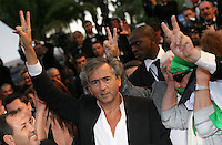Bernard-Henri Lévy at the Cosmopolis gala screening at the 65th Cannes Film Festival France. Cosmopolis is directed by David Cronenberg and based on the book by writer Don Dellilo.  Friday 25th May 2012 in Cannes Film Festival, France.