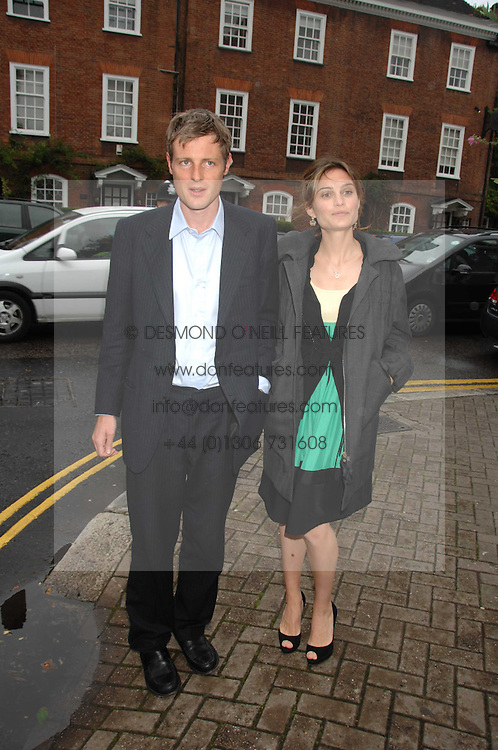 ZAC & SHEHERAZADE GOLDSMITH at the annual Sir David & Lady Carina Frost Summer Party in Carlyle Square, London SW3 on 5th July 2007.<br /><br />NON EXCLUSIVE - WORLD RIGHTS
