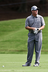 August 10, 2017 - Charlotte, North Carolina, United States - D.A. Points waits on the 18th fairway during the first round of the 99th PGA Championship at Quail Hollow Club. (Credit Image: © Debby Wong via ZUMA Wire)