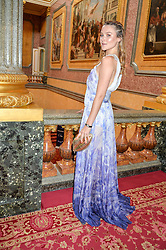 AMBER ATHERTON at the Dream Ball in aid of The Princes's Trust and Big Chance held at Lancaster House, St.James's, London on 7th July 2016.