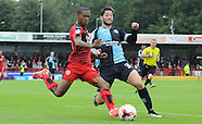 Crawley Town v Wycombe Wanderers 290815