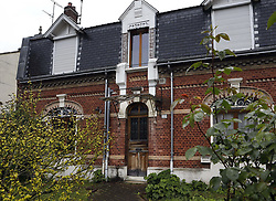 May 5, 2017 - Amiens, Frankrike - French Presidential election. The childhood home of Emmanuel Macron on Gaulthier de Rumilly 223 in his ihometown Amiens, France. Now his retired father lives here (Credit Image: © Aftonbladet/IBL via ZUMA Wire)