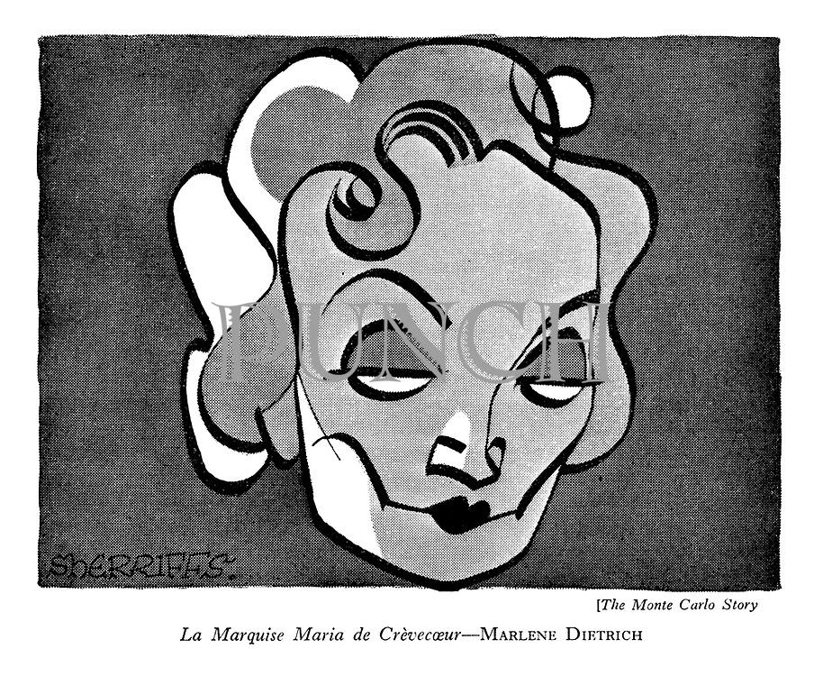 The Monte Carlo Story : La Marquise Maria de Crevecoeur—Marlene Dietrich