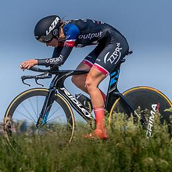 EMMEN (NED) June 16: <br />CYCLING <br />Dutch Nationals Time Trail Women Elite Laura Molenaar