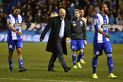 March 2, 2017 - La Coruna, Spain - Pepe Mel, new Deportivo La Coruna coach. La Liga Santander Matchday 25. Riazor Stadium, La Coruna, Spain. March 02, 2017. (Credit Image: © Monica Arcay Carro/VW Pics via ZUMA Wire/ZUMAPRESS.com)