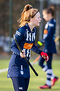 BILTHOVEN -  Hoofdklasse competitiewedstrijd dames, SCHC v hdm, seizoen 2020-2021.<br /> Foto: Jip Blaas (hdm)
