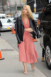 Oct. 1, 2015 - New York, NY, USA - October 1, 2015 New York City..Claire Danes arriving to tape an appearance on 'The Late Show With Stephen Colbert' on October 1, 2015 in New York City...Credit: Kristin Callahan/ACE ..: (Credit Image: © Kristin Callahan/Ace Pictures via ZUMA Press)