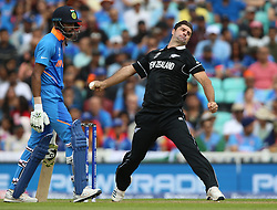 New Zealand's Colin de Grandhomme during the ICC Cricket World Cup Warm up match at The Oval, London.