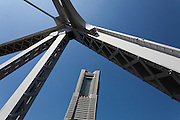 Landmark Tower in the Minato Mirai area of Yokohama. Kanagawa, Japan. Friday September 12th 2014
