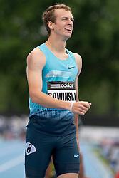 adidas Grand Prix Diamond League professional track & field meet: mens 800 meters, Erik Sowinski, USA