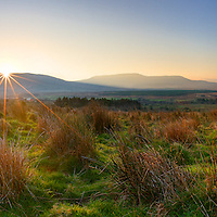 Panoramic Sunrise Ring of Kerry, County Kerry, Ireland / p24