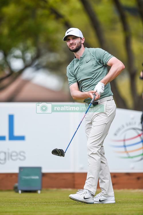 March 24, 2018 - Austin, TX, U.S. - AUSTIN, TX - MARCH 24: Kyle Stanley watches his tee shot during the quarterfinals of the WGC-Dell Technologies Match Play on March 24, 2018 at Austin Country Club in Austin, TX. (Photo by Daniel Dunn/Icon Sportswire) (Credit Image: © Daniel Dunn/Icon SMI via ZUMA Press)