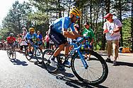 Alejandro Valverde (ESP - Movistar) during the 105th Tour de France 2018, Stage 14, Saint-Paul-trois-Chateaux - Mende (188 km) on July 21th, 2018 - Photo Kei Tsuji / BettiniPhoto / ProSportsImages / DPPI